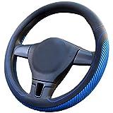 PahajimCar Steering Wheel Cover Mikrofaser Weich Fahrzeug Lenkradabdeckung Bequem Auto Lenkradschutz...