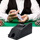 Asolym Professioneller Automatischer 2-in-1-Kartenmischer, Batteriebetriebene Kartenmischmaschine,...