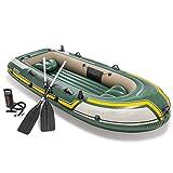 Kanu aufblasbar Sitzkajaks Dreipersonen-Schlauchboot, Kajak, Gummiboot, aufblasbare Verdickung,...
