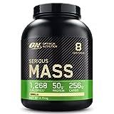 Optimum Nutrition ON Serious Mass Hochkalorisches Weight Gainer Protein Pulver mit Kohlenhydrate,...