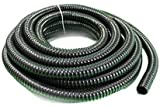 Spiralschlauch -25 mm -30 m lang - für Teich und Stream,Black