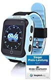 JBC GPS Uhr Kinder Telefon GPS Schulmodus SOS Notruf Smartwatch Kinder Kinderuhr ohne Abhörfunktion...