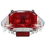 RV-Parts RÜCKLICHT Rückleuchte Klar/Weiß Baootian REX RS 450 460 Jinlun Ecobike Chinaroller...