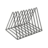ZSY LP Vinyl Record Storage Rack, CD Rack Storage Regal Triangle Frame DVD Stand Book Rack...