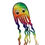 CIM Oktopus Drachen - Krake DRAKI Rainbow - Einleiner für Kinder ab 3 Jahren - Abmessung: 25x160cm...