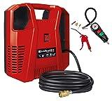 Einhell Kompressoren-Set TC-AC 190/8 OF Set (1.100 W, max. 8 bar, 3 m Druckluftschlauch mit...