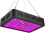 LED Grow Light , mit Bloom und Veg Schalter, LED Pflanzenzuchtlampe Vollspektrum mit (10W LED)...