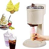 Hefacy Eismaschine für Zuhause, DIY, Küche, automatisch, Mini-Obst, weiche Eismaschine, einfache...