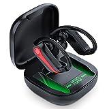 Bluetooth Kopfhörer Sport, In Ear Bluetooth 5.1 Kopfhörer Kabellos, 40H Spielzeit Stereo Wireless...