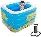RTUHRJLXJ Summer Fashion Falten Swimmingpool for Erwachsene Und Kinder Im Freien Garten-Pool...