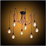 Modrad Kronleuchter Spinne Lampe Vintage Retro Hngend Lampen Industrial Pendelleuchte fr Kche...