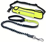 Opfree Hundeleine handsfree,Hundeleine Flexi,Adjustable Waist Dog Leash,for Running Walking, Ideal...