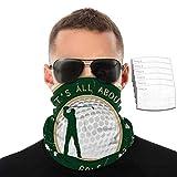 IUBBKI Alles dreht sich um Golf - Vintage-Poster mit Etikett eines Golfspielers und...
