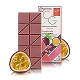CG Gourmet-Schokoladentafel, Ruby-Schokolade mit Passionsfrucht-Geschmack, 60 Gramm