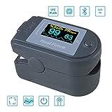 QQBB Finger Pulsoximeter, Anti-Schwache Perfusion, Blutsauerstoffsättigungsüberwachung,...