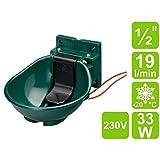 Lister Heizbares Tränkebecken SB 2 H mit Heizkabel 230 Volt / 33 Watt (Frostschutz bis ca. -20°C)...