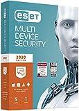 ESET Multi-Device Security 2020 | 5 Geräte | 1 Jahr Virenschutz | Windows (10, 8, 7 und Vista),...