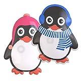 WARMFREUND Premium Handwärmer [2er Set] Pinguin - Verbessertes Konzept 2019 - Langanhaltende Wärme...