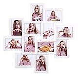 SONGMICS Bilderrahmen-Collage, für 12 Fotos in 4 x 6″ (10 x 15 cm), Montage erforderlich,...