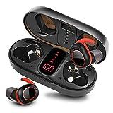 bakibo Kopfhörer Kabellos Bluetooth 5.1, Wireless Sport Kopfhörer mit Mikrofon in-Ear Stereo Sound...
