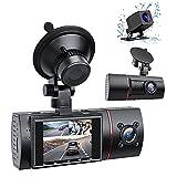 RaMokey 3 Lens Dashcam WDR HD 1080P Autokamera mit IR Nachtsicht 170° Weitwinkelobjektiv Auto...