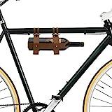 Bar Amigos Fahrrad-Weinflaschenhalter aus Leder, ideal für Radfahrer, für ein Picknick oder einen...