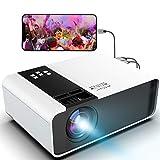 WayGoal Mini Beamer Full HD 1080p Unterstützt tragbarer LED Video Projektor 4800 Lumen und 200...