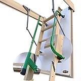 Gedämmte HEYKE W1 Bodentreppe mit Zwei Handläufe Spart Energiekosten | U-Wert 0,36 W/M2*K |...