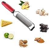 N\C Käsereibe mit großer und scharfer Reiben Oberfläche aus Premium Edelstahl rutschfest Robust...