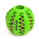 Idepet Hund Spielzeug Ball, ungiftig Bite resistent Spielzeug Ball für Hunde Welpen, Hundefutter...