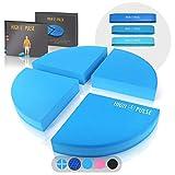 High Pulse® XXL Balance Pad inkl. 3X Fitnessbänder + Poster – Balancekissen für EIN...