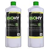 BiOHY Teppichshampoo (2x1l Flasche) | Teppichreiniger ideal zur Entfernung von hartnäckigen Flecken...