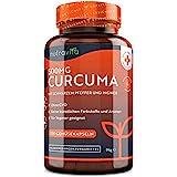 Curcuma Extrakt Kapseln – Curcumingehalt EINER Kapsel entspricht dem von ca. 25.000mg Kurkuma –...