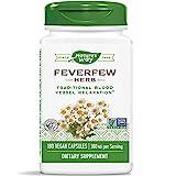 Nature's Way Bertramswurz (Fieberkrautblätter) (feverfew) - 380 mg - 180 vegetarische Kapseln -...