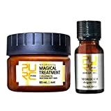 Haarmaske + Haaröl mit Arganöl Haarpflege Set Hair Conditioner Repair Hair Mask HaarpflegeöL Set...
