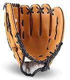 Lawei Baseball Handschuhe Batting PU Leder Baseball Glove für Sport & Outdoor Kinder Erwachsene - 3...