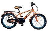 AMIGO Sports - Kinderfahrrad - 18 Zoll - Jungen - mit Rcktritt - ab 5 Jahre - Orange