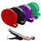 Pull-Up Fitnessbänder Klimmzug Support Band Fitnessband Gymnastikband Klimmzugbänder...