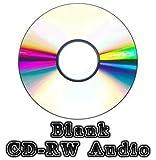 50x Rohling CD-RW Audio Disc (52x 80min 700MB) Musik/Audio CD wiederbeschreibbar