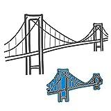 Xurgm Suspension Bridge Stanzschablonen Alle Stanzen Metall Prägeschablonen Stanzformen Cutting...