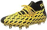 PUMA Herren Future 5.1 Netfit FG/AG Fußballschuhe, Ultra Yellow Black, 44.5 EU