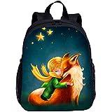 BATEKERYAS Kinderrucksack Little Prince Cartoon Hintergrund, Geeignet Für Schulreisen Schultaschen...