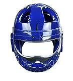 JXS-Outdoor Taekwondo Sparring Gear - Taekwondo Kopfbedeckungen - Robuste Masken- schlagfestem...