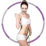 Lineluck Hula Reifen für Erwachsene, 37.5 Zoll Fitnessreifen mit Premium Schaumstoff,...
