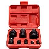 Sockel Adapter Set, 8 Stücke Professionelle Schlagschrauber Converter Reducer Converter Adapter mit...