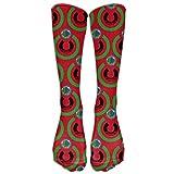 Dutars Malawi Flag Eat The Earth Kompressionssocken für Fußballsocken hohe Socken für Laufen,...