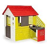 Smoby Casa 810713 Nature II mit Kche und Zubehr, Grn