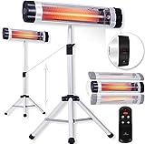 KESSER® Infrarotstrahler Heizstrahler Wärmestrahler Terrassenstrahler Temperatur 3-Stufig...