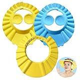 Baby Shampoo Cap, ZoneYan 3Pcs Einstellbare Baby Duschhaube, Shampoo Schutz für Kinder Ohren,...