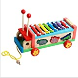 ASDFGG Kindertrommel Xylophone Knocked Klavier Educational Musik Spielzeug Percussion...